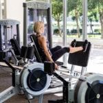 Gym Leg Press