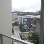 View across courtyard
